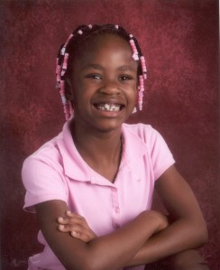 First grade photo --3 months before deciding on locs